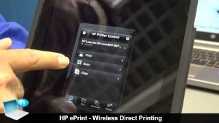 HP ePrint - Wireless Direct Printing