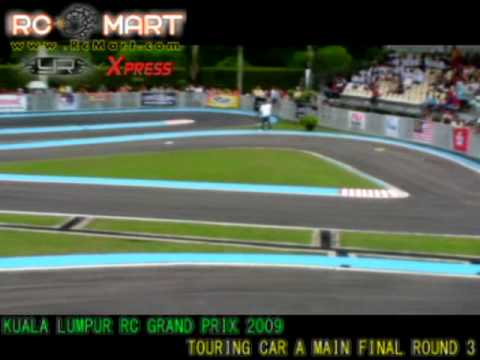 Kuala Lumpur Rc Grand Prix 2009 Touring Car A Main Round 3