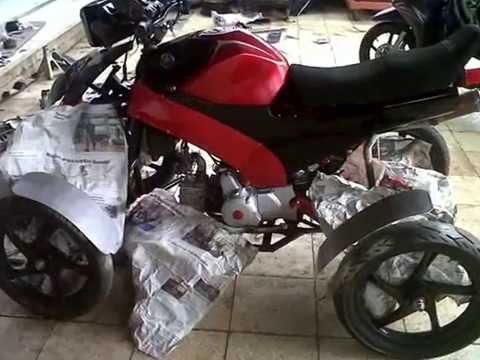 Video SMK Angkasa 1 Halim Jakarta (proses pembuatan motor roda 4)