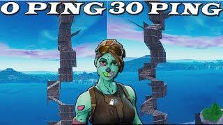 0 ping vs 30 ping fortnite - Thủ thuật máy tính - Chia sẽ