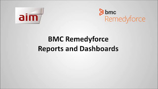 BMC Remedyforce - Reports and Dashboards