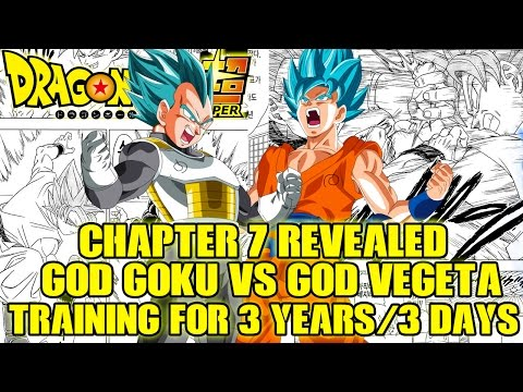 Dragon Ball Super: Chapter 7 REVEALED!! - Goku And Vegeta Train In The Time Chamber For 3 Years!