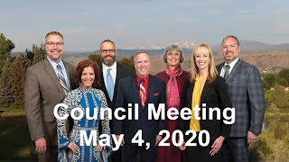 Preview image of City Council Meeting - May 4, 2020