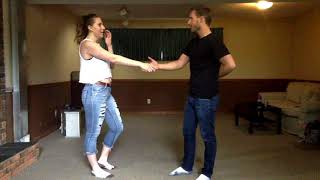 Learn How To Club Country Dance Part 3 - Intermediate Spins and Advance Dips