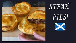 Scottish Steak Pies | Easy Meat Pie Recipe :)