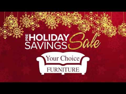 Pre-Holiday Savings Sale - TV