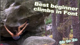 Great Beginner Climbs in Bois Rond: Fontainebleau by Bouldering DabRats