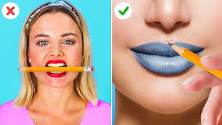 DIY BEAUTY HACKS || Girly Top Secrets That Will Give You Goosebumps!