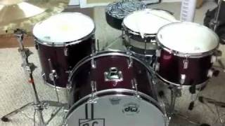 Who Invited The Russian Soldier by ETID (drum cover) NEW VINTAGE KIT