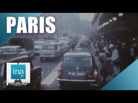 Les embouteillages dans Paris ne datent pas d'aujourd'hui   Archive INA