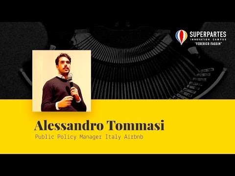 Video intervista di Alessandro Tommasi, Public Policy Manager Italy Airbnb