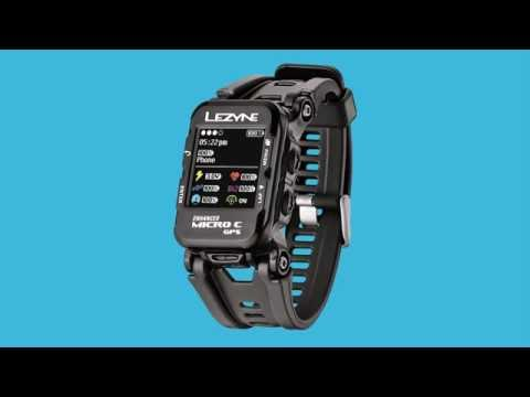 Видео о Часы Lezyne Micro C GPS Watch черный 4712805 987061