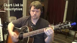 You Redeem (Aaron Shust) Guitar Chord Chart - Strum Instrumental