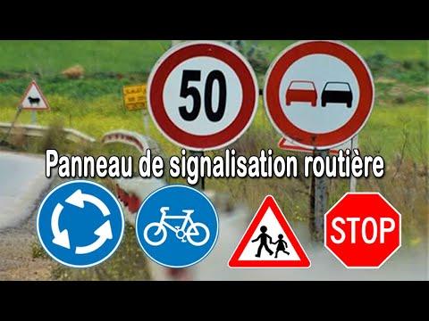 tous les panneaux de signalisation routière - code de la route | danger - interdiction - obligation
