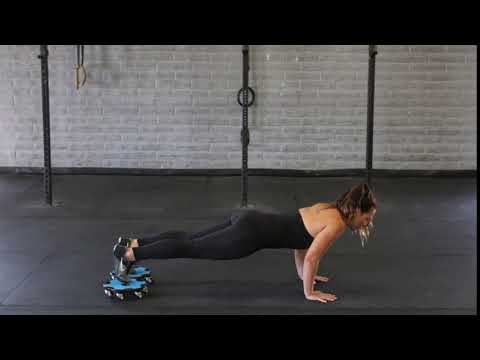 Knee Tuck Push Up