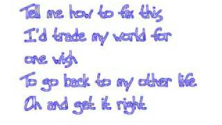 Mixed Up - Miley Cyrus (W/Lyrics)