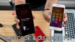 How to reset disabled or Password locked iPhones 7 & 7 Plus
