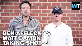 Ben Affleck And Matt Damon Insult Each Other For Charity | What's Trending Now