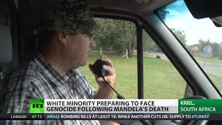 'Prepping for Genocide': White minority fears 'anarchy' in post-Mandela S. Africa