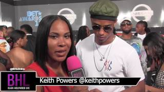 Keith Powers Reveals His Favorite New Edition Era   BET Awards 2017