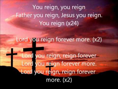 Vashawn Mitchell- You Reign (Lyrics)