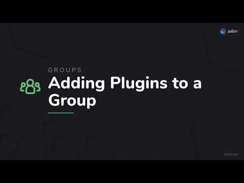 Adding Plugins to a Group