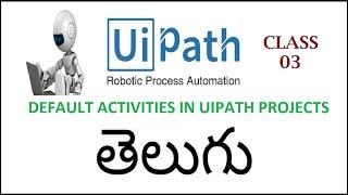 rpa uipath tutorial telugu - TH-Clip