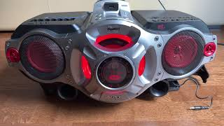 Sony CFD RG880 Xplod Ghettoblaster Boombox Radiorecorder Check
