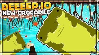 Deeeep.io RAGE QUIT | BRAND NEW CROCODILE UPDATE & SWAMP BIOME | Lets Play Deeeep.io Gameplay (Beta)