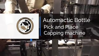 Automatic Pick And Place Type Capping Machine