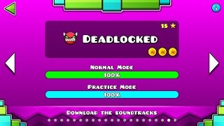Geometry Dash - Level 20:Deadlocked (All Coins)