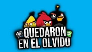 TOP APPS Y JUEGOS POPULARES QUE YA NO EXISTEN O YA NADIE RECUERDA 😥 | LINE, BBM, POU, FLAPPY BIRD