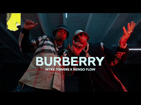 Download Myke Towers & Ñengo Flow - BURBERRY (Video Oficial) HD Mp4 3GP Video and MP3