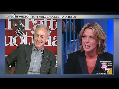 Otto e mezzo - Lorenzin, l&#39ala destra di Renzi (Puntata 11/01/2018)