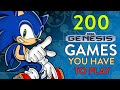 200 Sega Genesis Mega Drive Games You Have To Play rand