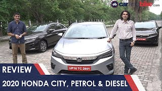 All-New 2020 Honda City Review: Petrol & Diesel Tested | carandbike