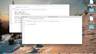 Android Studio Tutorial - Login and Register Part 3 - Setting up SQL database & PHP files