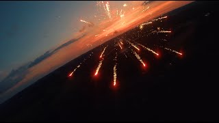 Fireworks at Sunset | FPV Drone Adventure