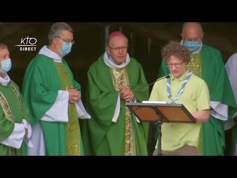 Messe de 10h à Lourdes du 9 septembre 2021