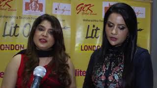 Amruta Fadnavis launches Lit-O-Fest to promote Rural development internationally