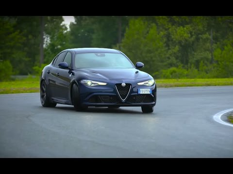 Chris Harris Drives The Alfa Romeo Giulia Quadrifoglio | Chris Harris Drives | Top Gear