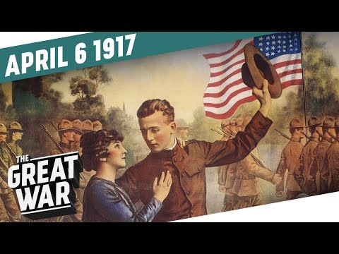 Spojené státy vstupují do války - Velká válka