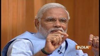 Narendra Modi in Aap Ki Adalat 2014, Part 5