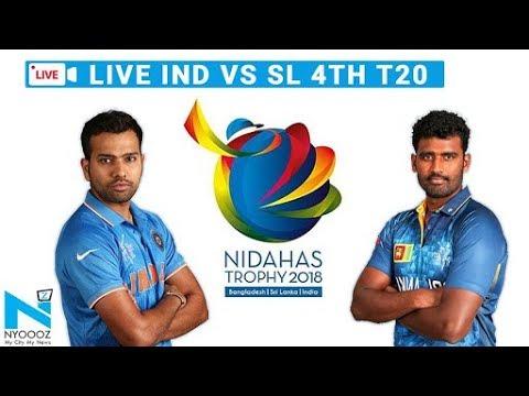 LIVE India vs Sri Lanka, 4th T20I Cricket Score  | IndvsSL T20 | NYOOOZ UP