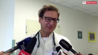 Robert Bakalarz, lekarz kierujący Oddziałem Onkologii Klinicznej w sądeckim szpitalu