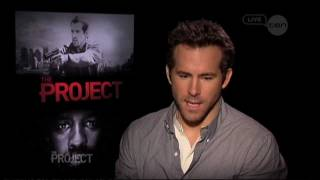 Ryan Reynolds & Denzel Washington interview - The Project - Safe House (2012)