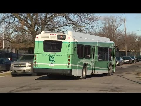 City of Detroit says 'glitch' sidelines 56 DDOT buses