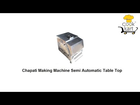 Roti Making Machine Semi Automatic Tabletop