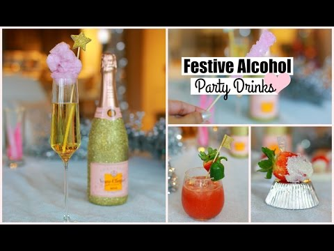 DIY Party Cocktails – Alcohol Cocktail Beverages Recipe MissLizHeart