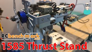 My New $1000 Thrust Stand - RCbenchmark 1585 - Setup & Review